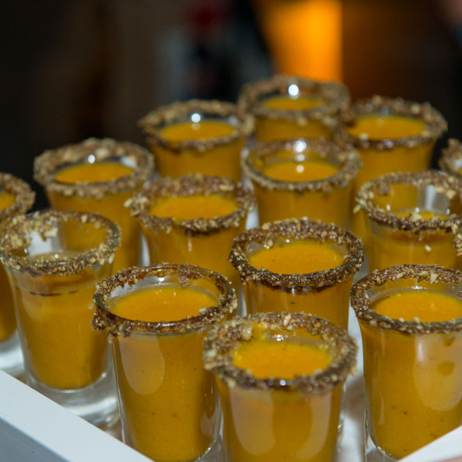 Butternut Squash Soup Shooters