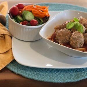 Meatballs Spaghetti Marinara