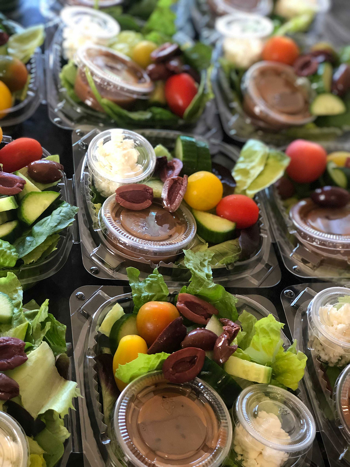 Packaged Salads for office catering